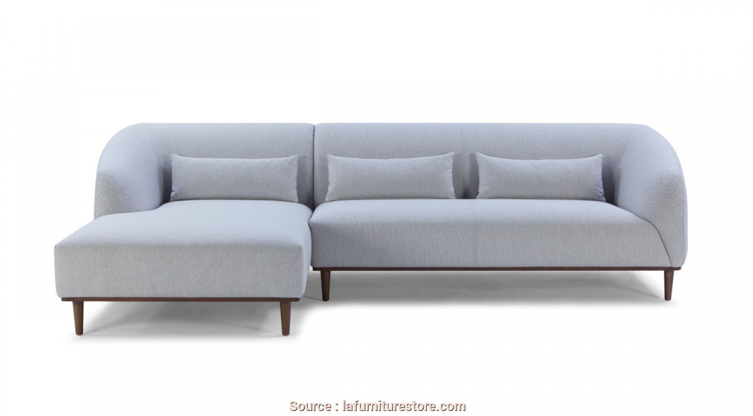 Ricambi Divani Dondi, A Buon Mercato Divani Casa Venus, Century Modern Grey Fabric Sectional W/ Left Facing Chaise