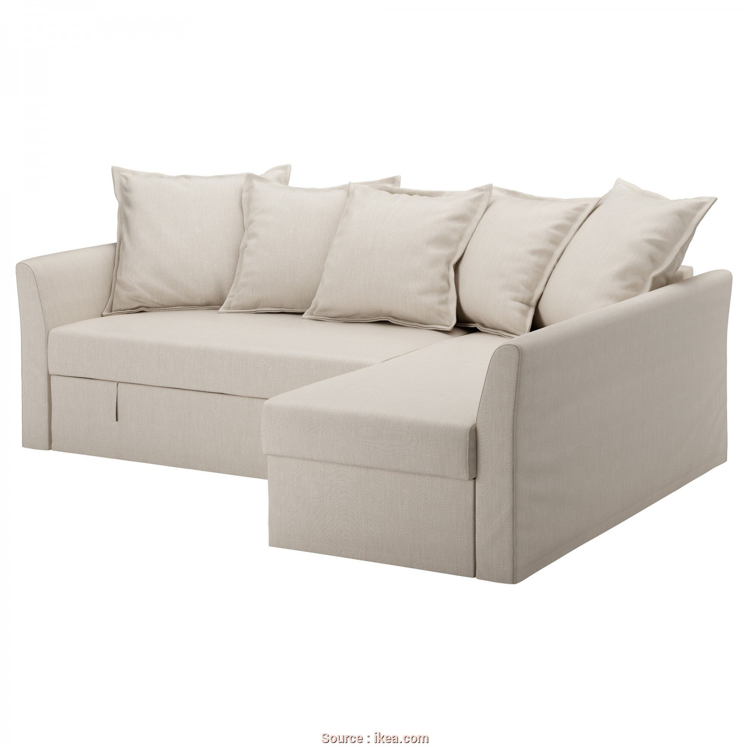 Sofa Cama Asarum De Ikea, Stupefacente IKEA HOLMSUND Corner Sofa-Bed Cover Made Of Extra Hard-Wearing Polyester With A