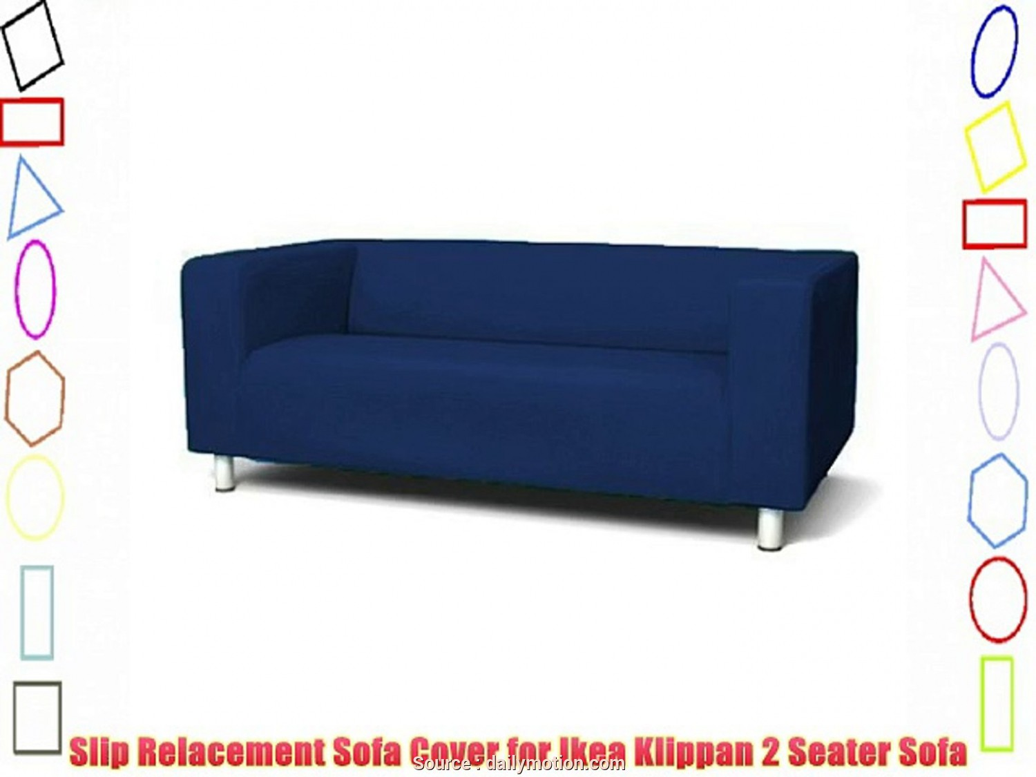 Sofa Klippan Ikea Malaysia, Eccezionale Sofa Slip Replacement Cover, Ikea Klippan 2 Seater Sofa In Royal Blue With Velcro Secure, Video Dailymotion