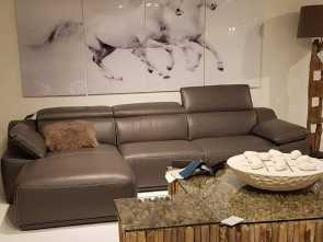 Divano Isabel Chateau D'Ax, Locale Isabella Sectional In Full Grain Leather, Handcrafted In Italy ????????, @Bova_Furniture #