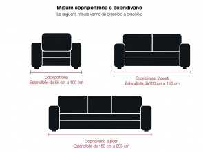 amazon copridivani 3 posti Copridivano bielastico ANTIMACCHIA, Made in Italy (Panna, 3 Posti): Amazon.it: Casa e cucina Locale 6 Amazon Copridivani 3 Posti