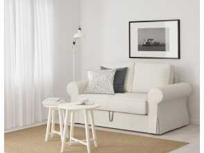backabro ikea kanapé BACKABRO Two-seat sofa-bed Hylte white Grande 6 Backabro Ikea Kanapé