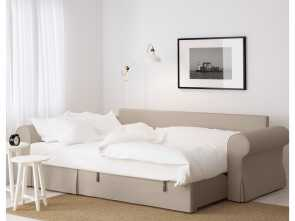 backabro ikea test IKEA BACKABRO sofa, with chaise longue Readily converts into a bed Ideale 6 Backabro Ikea Test