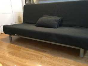 beddinge lovas sofa bed ikea IKEA SOFA, FUTON DARK GREY 'BEDDINGE LOVAS' WITH SULTAN, IKEA Ideale 6 Beddinge Lovas Sofa, Ikea