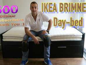 Brimnes Letto Video, Migliore IKEA BRIMNES Extendable, Bed Frame With 2 Drawers Assembly