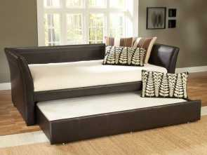 Brimnes Struttura Letto Divano/2 Cassetti, Deale Malibu Leather Daybed By Hillsdale Furniture, Daybeds, Bedroom Furniture
