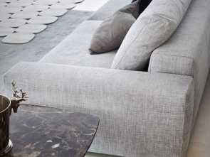 Busnelli Divani Milano, Stupefacente Divano Sfoderabile, Chaise Longue TAKE IT EASY, By Busnelli