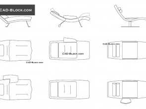 chaise longue dwg 2d Chaise Lounge, blocks, free AutoCAD drawings download Bella 6 Chaise Longue, 2D