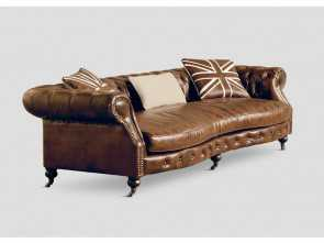 Come Fare Un Divano Chesterfield, Bella DB002313 Divano Chesterfield L, Cm, DIALMA BROWN, Best Arreda