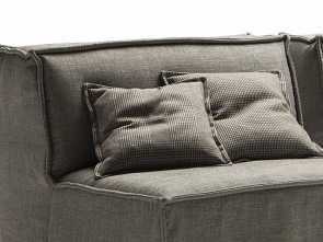 cuscini divano rinascente Scatter squared cushions with flat piping cm 45x45 Superiore 6 Cuscini Divano Rinascente