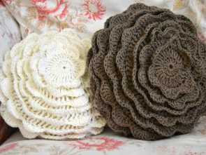 cuscini divano uncinetto Cream Life: Cuscini all'uncinetto, crocheting, knitting Superiore 6 Cuscini Divano Uncinetto