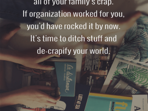 Distanza Minima, Divano E Tv, Delizioso Stop Trying To Organize, Of Your Family'S Crap. If Organization Worked, You