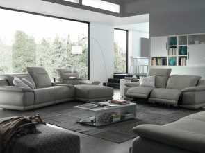 Divani Chateau D'Ax, Marino, Completare Indianapolis Sectional Sofa With Recliners, Chateau D'Ax, NEO