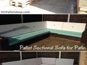 divani pallet fai da te DIY #Pallet Sectional #Sofa, Patio, Self-Installed 8-10 Seater, 1001 Pallet Ideas Eccellente 5 Divani Pallet, Da Te