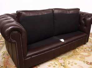 Divano 3 Posti In Inglese, Favoloso Divano 3 Posti Chesterfield Chester Club Originale Inglese