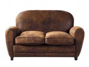 divano arizona maison du monde 2-Seater Microsuede Club Sofa in Brown Arizona Casuale 6 Divano Arizona Maison Du Monde