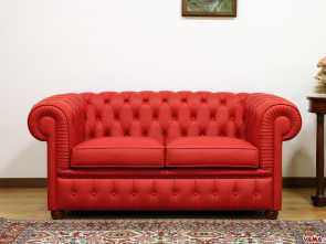 Divano Chester Bordeaux, Deale Red Chesterfield Sofa: Absolutely A Classic