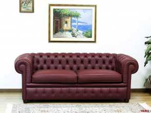 divano chesterfield bordeaux Divano Chesterfield Large Bella 5 Divano Chesterfield Bordeaux