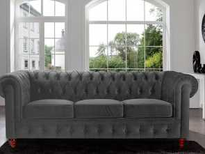 divano chesterfield online Get Quotations · Divano Roma Furniture Velvet Scroll, Tufted Button Chesterfield Style Sofa, Grey A Buon Mercato 6 Divano Chesterfield Online