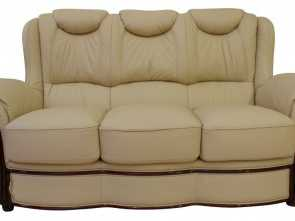 divano chesterfield verona Verona 3 Seater Sofa Settee Genuine Italian Cream Leather Offer Classy 4 Divano Chesterfield Verona