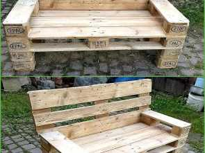 Divano Da Giardino In Pallet, Bello Whenever We Make Something, Of, Shipping Pallets, We, Actually Giving A Whole, Life To This Already Used Timber. This Is A