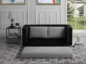 divano dm979 black modular office sofa Amazon.com: DIVANO ROMA FURNITURE Modern 2 Tone Modular/Convertible Sleeper (Black/Light Grey): Kitchen & Dining Freddo 6 Divano Dm979 Black Modular Office Sofa