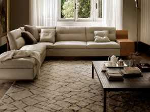Divano Frau In Pelle, Esotico Modular Sofa / Contemporary / Fabric / Leather. GRANTORINO POLTRONA FRAU