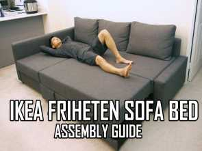 divano friheten video IKEA FRIHETEN Sofa, Assembly Guide Classy 4 Divano Friheten Video