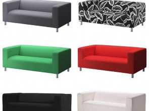 Divano Ikea Ektorp Verde, Esotico IKEA KLIPPAN Cover 2 Seat Sofa, Various Colours (Sofa, Included), EBay