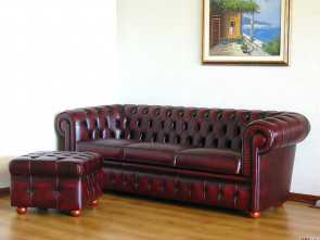 Divano Inglese, Loveable Divano Frau Chesterfield Stupendo Divano Chesterfield Chester In Pelle Originale Inglese 3