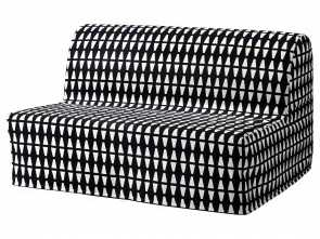 Divano Letto Ikea Lycksele Havet, Esotico IKEA LYCKSELE HÅVET Two-Seat Sofa-Bed Cover Made Of Durable Cotton With A