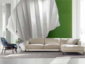 Divano Letto In Pelle, Chaise Longue, Buono Divano In Pelle Time Break, Chaise Longue Pelle Pieno Fiore Limited Edition