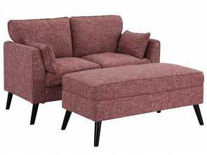 divano ottomana sinonimi Amazon.com: Upholstered Loveseat 56.7