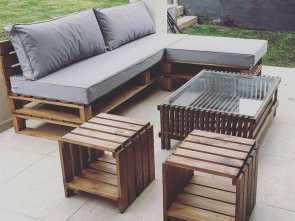 Divano, Pallet Paint Your Life, Originale Magnificent, Pallet Furniture Design Ideas, CAPE HOUSE