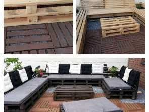 Divano Pallet Paint Your Life, Ideale Meine Kreative Lounge! Submitted, Patrick Winne ! #Furniture, #Lounge, #Outdoor, #Pallets, #Sofa
