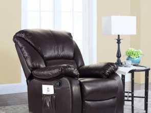 divano roma furniture relax reclining massage chair Full Body Massage Recliner Chair, PU Leather Reclining Massage Chair (Brown), Walmart.com Amabile 5 Divano Roma Furniture Relax Reclining Massage Chair