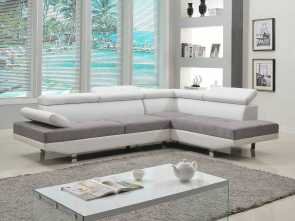 divano sofa design Amazon.com: Divano Roma Furniture Modern Contemporary Designed, Tone Microfiber, Bonded Leather Sectional Sofa: Kitchen & Dining Favoloso 4 Divano Sofa Design