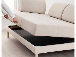 Futon Ikea Cadiz, Stupefacente IKEA FLOTTEBO Sofa-Bed, Cover Is Easy To Keep Clean Since It Is Removable