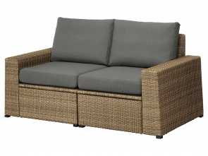Futon Ikea Fr, Bellissima IKEA SOLLERÖN 2-Seat Modular Sofa, Outdoor Practical Storage Space Under, Seat