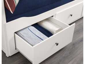 Hemnes Letto Video, Delizioso HEMNES Daybed Frame With 3 Drawers, White