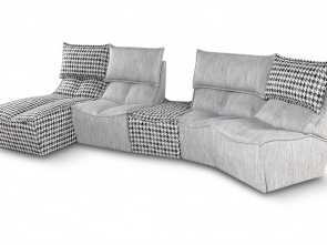 Hip, Sofa Calia Italia, Stupefacente Adorn Your Living Room With, Corner Pieces, MATTA