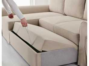 ikea backabro BACKABRO Sofa, with chaise longue Hylte beige Maestoso 5 Ikea Backabro