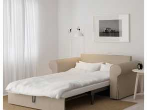 ikea backabro bed BACKABRO Two-seat sofa-bed Hylte beige Esotico 6 Ikea Backabro Bed
