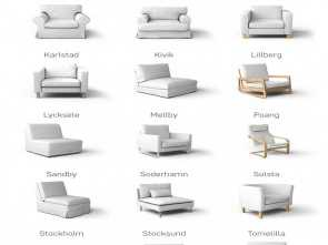 Ikea Backabro Discontinued, Grande Replacement IKEA Sofa Covers, Discontinued IKEA Couch Models