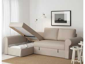 Ikea Backabro Sofa, With Chaise Instructions, Magnifico IKEA BACKABRO Sofa, With Chaise Longue Readily Converts Into A Bed