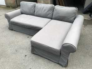 Ikea Backabro Willhaben, Migliore FREE DELIVERY IKEA BACKABRO GREY L-SHAPED SOFA BED, In Paddington, London, Gumtree