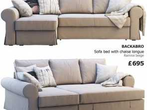 Ikea Backabro Willhaben, Migliore Ikea Backabro 2 Sofas 3D Model, Obj, 3Ds, 1