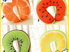 Ikea Cuscino Viaggio, Minimalista Hot Sale 30*30Cm Colorful Fruit Pattern U Neck Pillow Home Decoration Birthday Gifts Travel Throw Pillow ST307-In Stuffed & Plush Animals From Toys &