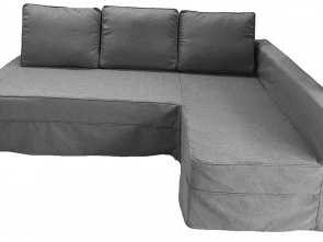 Ikea Divano K, Originale The Light Gray Friheten Thick Cotton Sofa Cover Replacement Is Custom Made, IKEA Friheten Sofa Bed, Or Corner, Or Sectional Slipcover. Sofa Cover