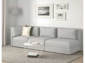 Ikea Divano Planner, A Buon Mercato IKEA, VALLENTUNA Sectional, 3-Seat With Open, And Storage, Orrsta